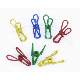 Basic Nature Clothes Clips Metal